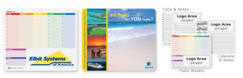 Your message is printed on each sheet, giving youthe full impact of both a mouse pad and a note pad.